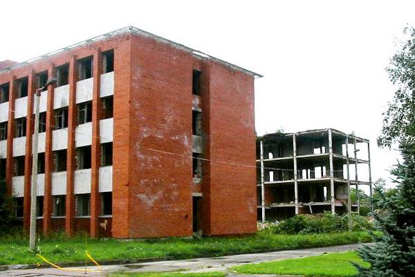Снос зданий Академии внутренней обороны МВД Эстонии