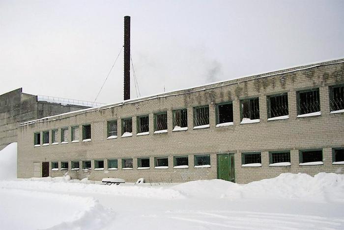 Снос складских зданий Silikaat