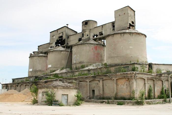 Бывший бетонный завод Подрага (Рига)