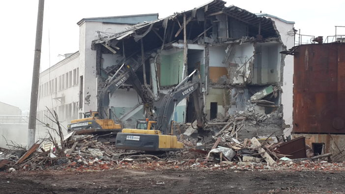 Демонтаж комплекса зданий и сооружений