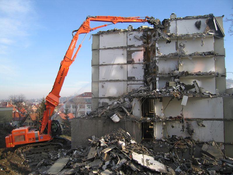 Демонтаж старого здания