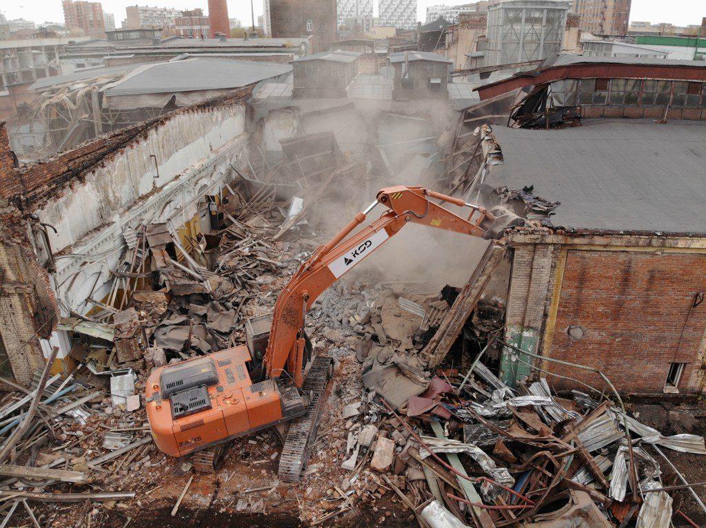 Демонтажные работы: СНиП